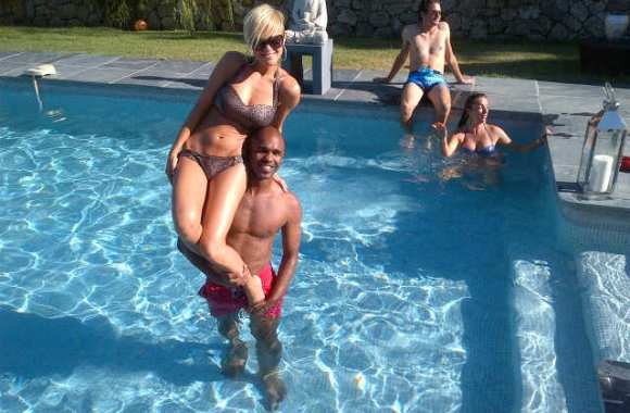 Photo : Pongolle prend du bon temps