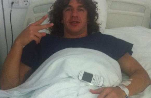Photo : Puyol va bien