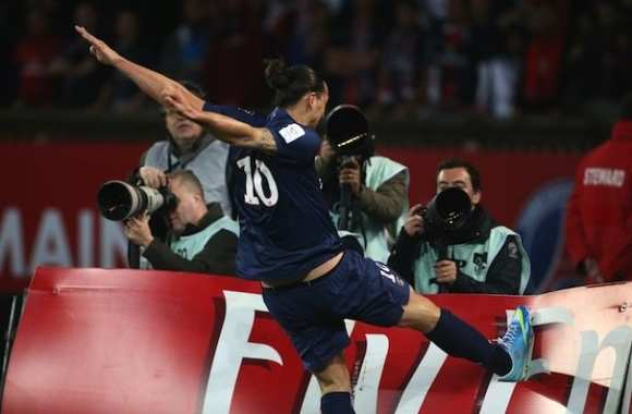 Photo: Quand Zlatan s'énerve