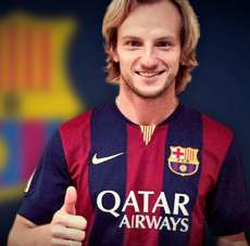 Photo : Rakitic au Barça