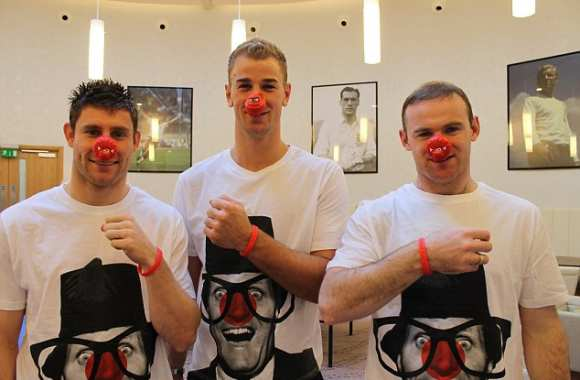 Photo: Red Nose Day en Angleterre