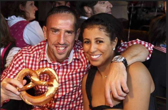 Photo : Ribéry et son bretzel