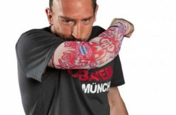 Photo: Ribéry tatoué