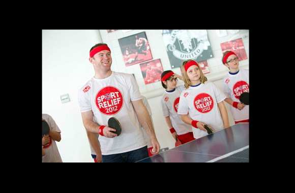 Photo : Rooney au ping-pong