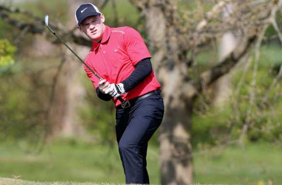 Photo : Rooney le golfeur