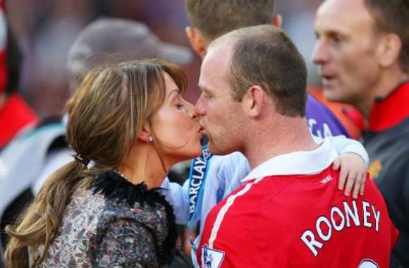 Photo : Rooney love