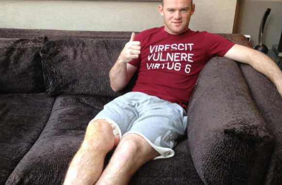Photo : Rooney te salue bien