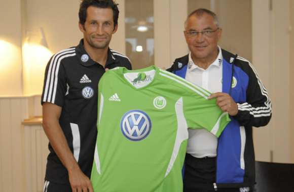 Photo : Salihamidzic à Wolfsburg