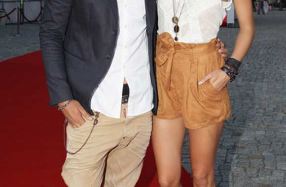 Photo : Sami Khedira et Lena Gercke