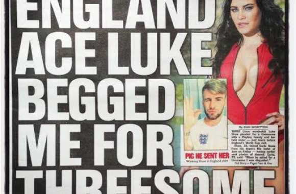 Photo : Scandale sexuel pour Luke Shaw ?