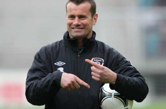 Photo : Shay Given le socialiste