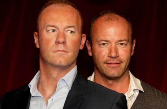 Photo : Shearer et son double