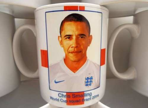 Photo : Smalling sosie d'Obama