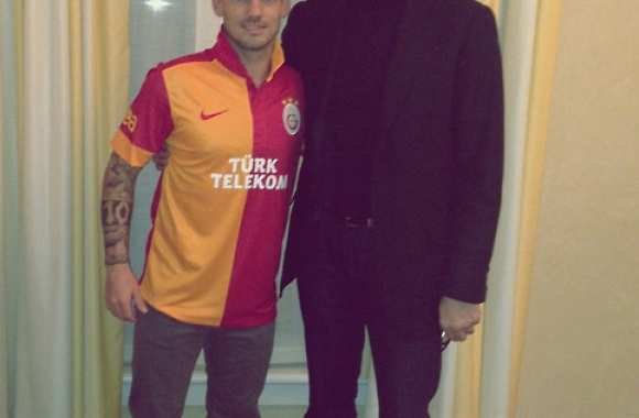 Photo : Sneijder à Galatasaray