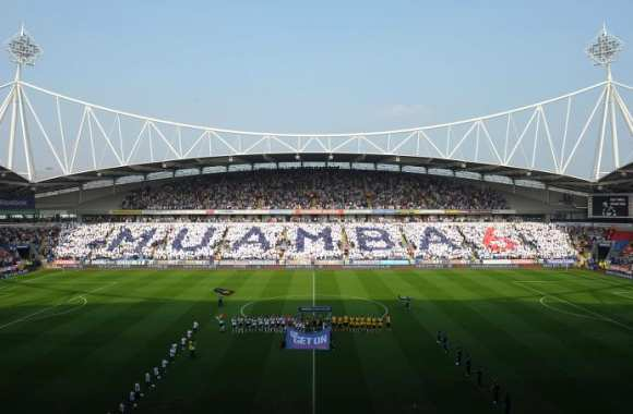 Photo : Super tifo pour Muamba