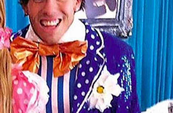 Photo : Tevez en clown