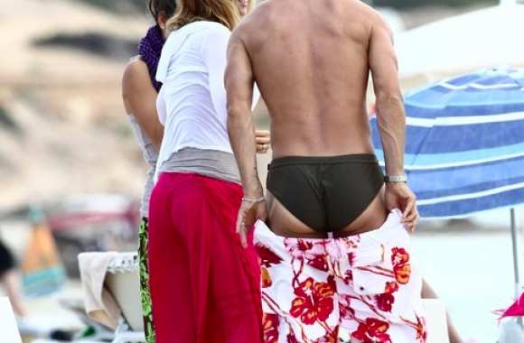 Photo : Totti en maillot de bain