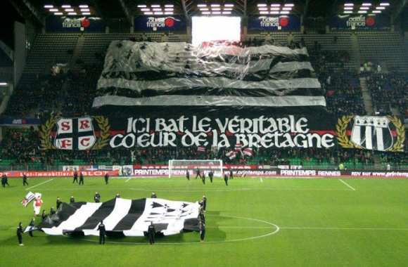 "Photo : un tifo ""breton"""