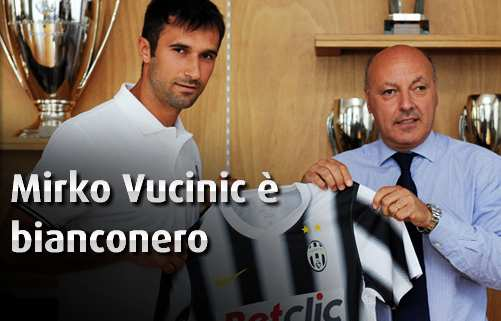 Photo : Vucinic à la Juventus