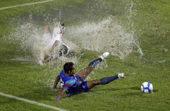 Photo: Water-Foot en Inde