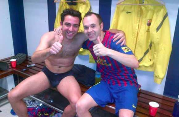 Photo : Xavi en slip