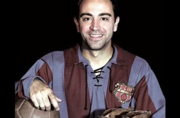 Photo: Xavi, old school