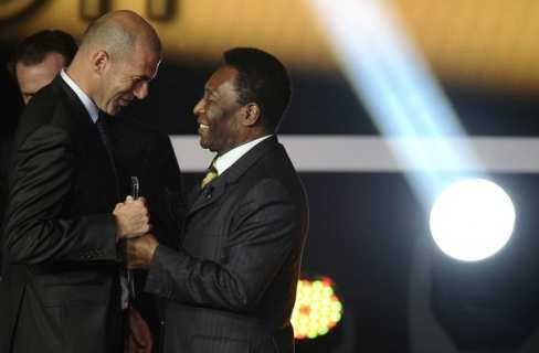 Photo : Zidane et Pelé