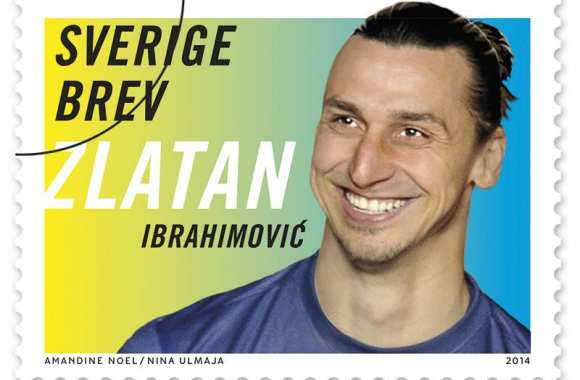 Photo: Zlatan, définitivement timbré