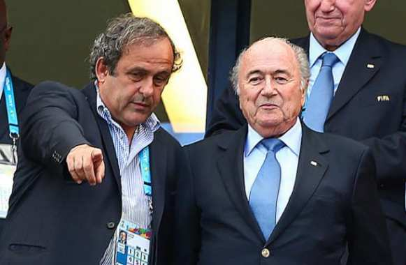 Platini charge Blatter