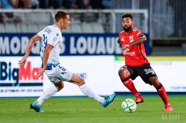 Pronostic Guingamp Sochaux : Analyse, prono et cotes du match de Ligue 2