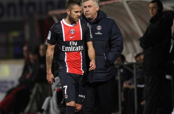 PSG : Ancelotti attend plus de Ménez