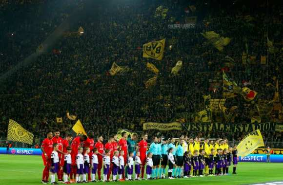 Pur Harmony, ou l'amour en jaune et noir pour le You'll Never Walk Alone