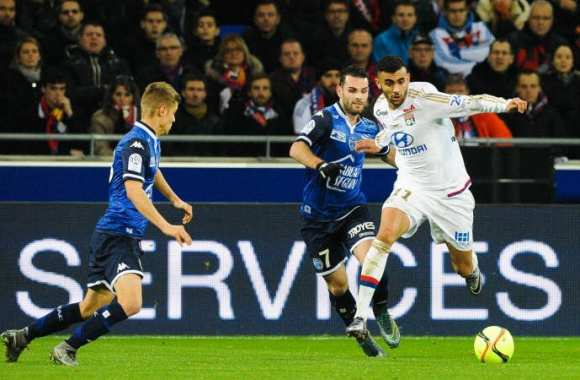 Rachid Ghezzal contre Troyes