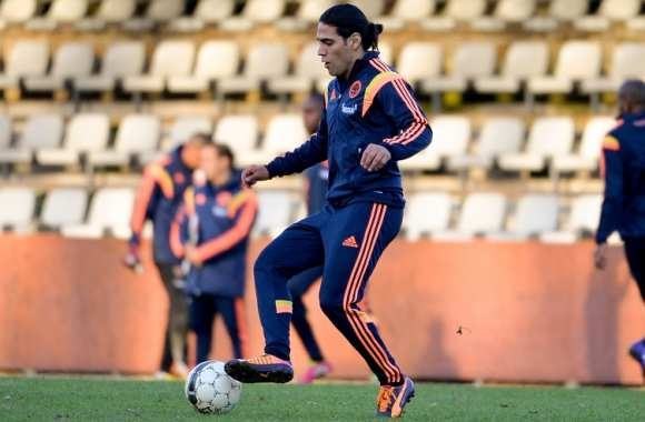 Radamel Falcao avec la Colombie