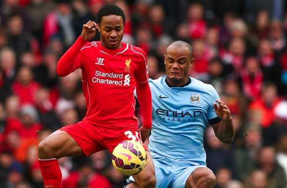 Raheem Sterling vers Manchester City