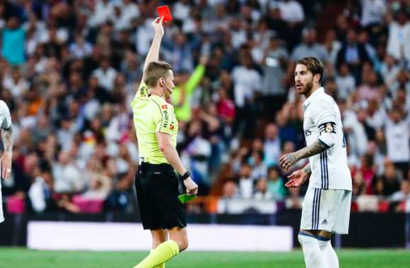 Ramos suspendu un match