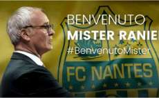 Ranieri officiellement à Nantes