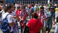 Real-Atletico : l'ambiance monte à Milan