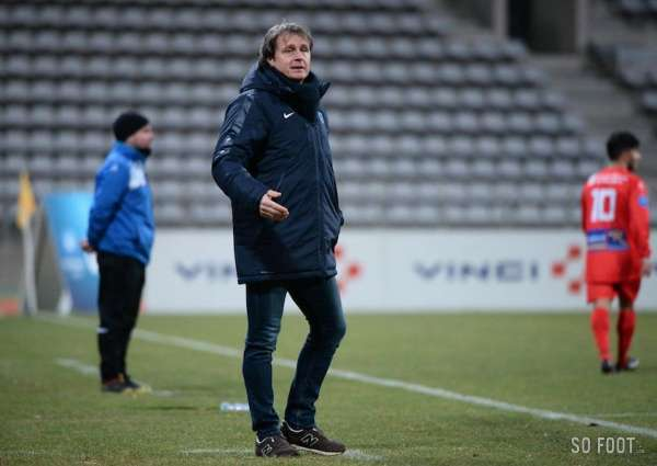 Reginald Ray, nouvel entraîneur du Sporting Bastia