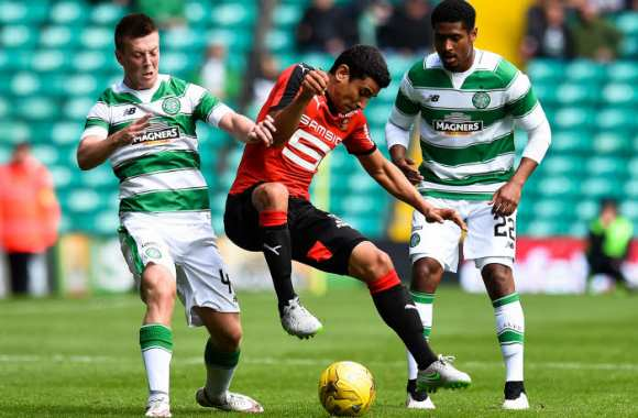 Rennes perd contre le Celtic Glasgow