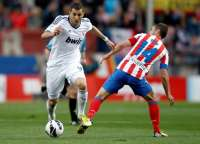 Benzema (Real Madrid) Gabi (Atlético Madrid)