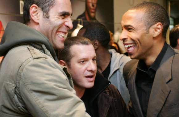 Richard Dacoury, Thierry Rey et Thierry Henry