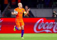 Robben prend sa retraite internationale
