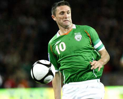 Robbie Keane à Los Angeles