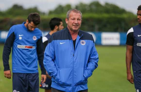 Rolland Courbis, coach de Montpellier
