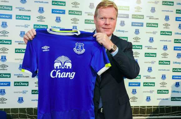Ronald Koeman à Everton