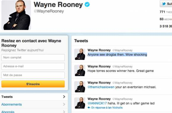 Rooney tacle Drogba
