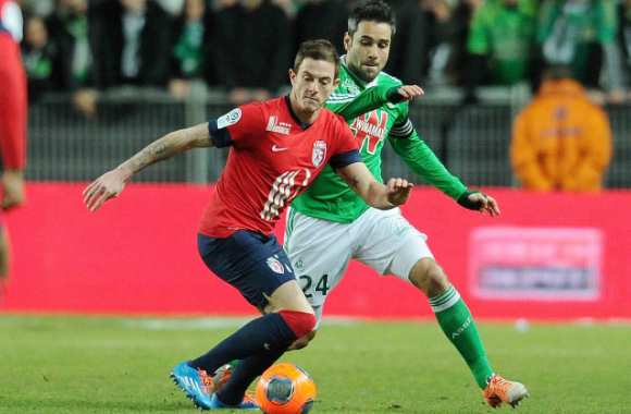 Roux (Lille) contre Perrin (ASSE)