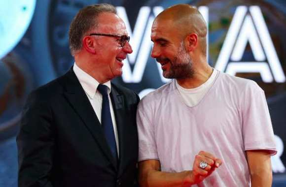 Rummenigge : « Merci à Guardiola »