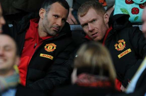 Ryan Giggs et Paul Scholes
